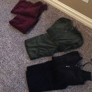 Bundle of velour sets !